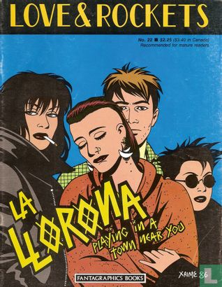 Heartbreak Soup - Love and Rockets 22