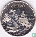 "2 Euro Sail Den Helder 1997 ""Marine/Visdiefjes"" - Afbeelding 1"