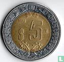 Mexico - Mexico 5 pesos 1998