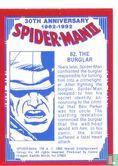 Spider-Man II: 30th Anniversary 1962-1992 - The Burglar