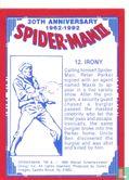 Spider-Man II: 30th Anniversary 1962-1992 - Irony