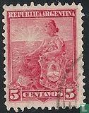 Argentina [ARG] - Symbol of the Republic