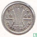 Australia - Australia 3 pence 1948