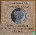 "Nederland 2½ Ecu 1994 "" Juliana & Bernhard""  - Afbeelding 3"