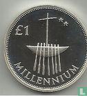 Ireland 1 pound 2000 (millennium - PIEDFORT) - Image 2