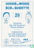 Fun Stickers - Sidonia - De sissende sampan