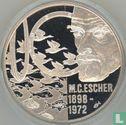 """Nederland 20 Euro 1998 """"M.C. Escher"""" - Afbeelding 2"""