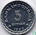 "Indonesië 5 rupiah 1995 ""Family planning program""  - Afbeelding 1"