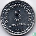 "Indonesië 5 rupiah 1996 ""Family planning program""  - Afbeelding 1"