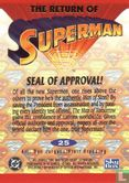 Return of Superman - Seal Of Approval!
