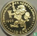 """Nederland 10 ecu 1995 """"Grotius"""" - Afbeelding 1"""