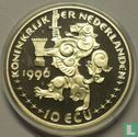 """Nederland 10 ecu 1996 """"Jacob van Campen"""" - Afbeelding 1"""