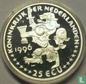 """Nederland 25 ecu 1996 """"Jacob van Campen"""" - Afbeelding 1"""