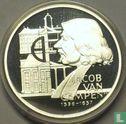 """Nederland 25 ecu 1996 """"Jacob van Campen"""" - Afbeelding 2"""