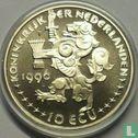 "Nederland 10 ecu 1996 ""Johannes Vermeer"" - Afbeelding 1"