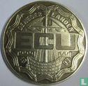 """Nederland 10 ecu 1993 """"Verdrag van Maastricht"""" - Afbeelding 1"""