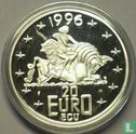 "Nederland 20 euro ecu 1996 ""Beatrix"" - Afbeelding 1"