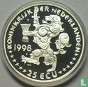 "Nederland 25 ecu 1998 ""Johan Rudolf Thorbecke"" - Afbeelding 1"