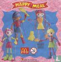McDonald's Happy Meal - Betty Spaghetti zurück zur Schule