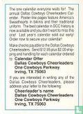 Cheerleaders Checklist - Dallas Cowboys - Afbeelding 2