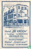 """Zakje - Hotel """"De Kroon"""""""