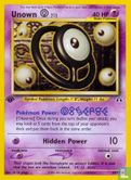 English)2001) Wizards - Neo Discovery (1st Edition) - Unown [O]