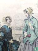 Toilettes de Longchamps, deux femmes à la terasse (1850-1853) - Bild 3