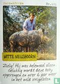 Albert Heijn - Zambia - Witte neushoorn