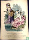 Jeune fille à la pèche et maman (1849-1853) - 1107B - Afbeelding 1