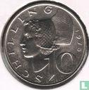 Autriche - Autriche 10 schilling 1975
