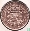 Luxembourg 10 centimes 1860 - Image 2