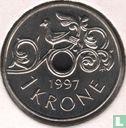Noorwegen (Norge) - Noorwegen 1 krone 1997