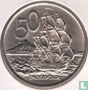 """New Zealand 50 cents 1969 """"Bicentenary of Captain Cook's voyage"""" - Image 2"""