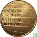 """Slovenia 100 euro 2011 (PROOF) """"Rowing World championship in Bled"""" - Image 2"""