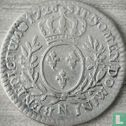 Frankrijk (France) - Frankrijk 1/10 écu 1726 (N)