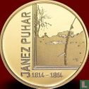 """Slovenia 100 euro 2014 (PROOF) """"200th anniversary of the birth of the photographer Janez Puhar"""" - Image 2"""