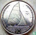 Insel of Man 10 Pence 1998 (ohne Triskeles) - Bild 2