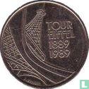 "Frankrijk (France) - Frankrijk 5 francs 1989 ""100th Anniversary of the Eiffel Tower"""