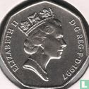 United Kingdom (Great Britain) - United Kingdom 50 pence 1997 (27.3 mm)