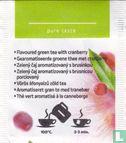Green Tea cranberry  - Afbeelding 2