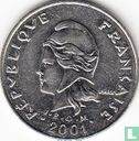 Frans-Polynesië - Frans-Polynesië 20 francs 2001