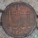 1 pie Bombay 1833 grosse Staben  - Bild 2