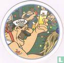 Nederland - Doemeend'r Twan-tig en loen-tiejen 2001 - Voorkant: Carnaval Man met tattoo en glas bier in polonais