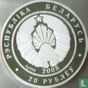 "Belarus 20 rubles 2008 (PROOF) ""Lynx"" - Image 1"