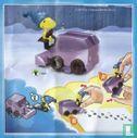Peanuts - Woodstock sur machine à vadrouille à glace