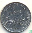 Frankrijk (France) - Frankrijk 1 franc 1971