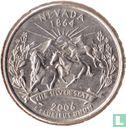 "Verenigde Staten (USA) - Verenigde Staten ¼ dollar 2006 (P) ""Nevada"""