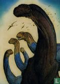 Lost Worlds by William Stout - Camarasaurs