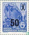GDR - Five Year Plan imprint