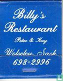 Billy's Restaurant - Image 1